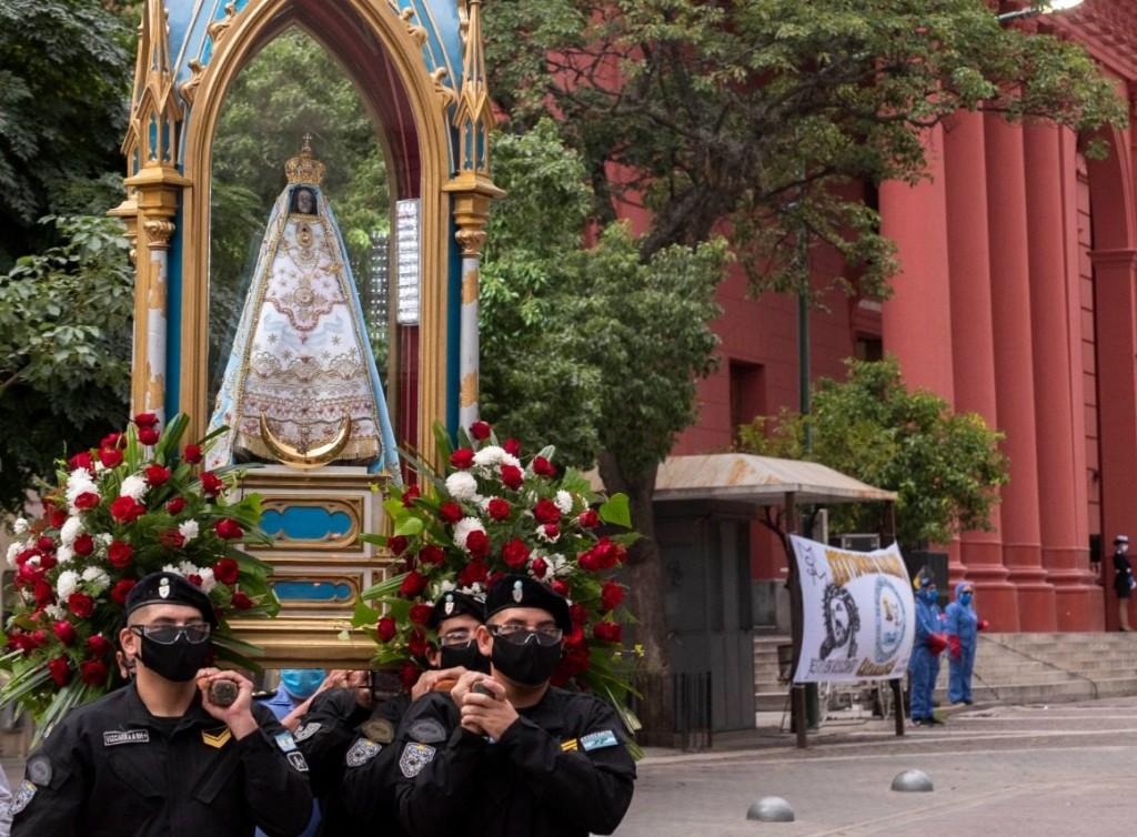 Celebración sin feligreses en Catamarca